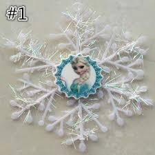 frozen elsa snowflakes tree decorations