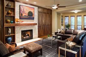 Living Room Mantel Decor Fireplace Mantel Decor For A Contemporary Living Room With A Built