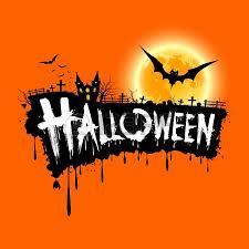 halloween design composition halloween typography halloween logo