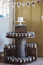 wedding cake jars sweet eats cakes and erik s timberlake farm wedding