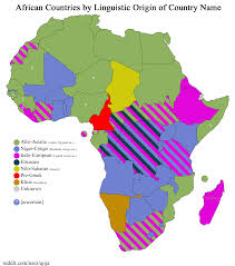 World Map Names Of Countries by African Countries By Linguistic Origin Of Country Name Oc 2000