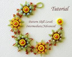 cubic right angle weave tutorial bracelet pattern beading