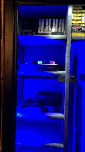 stack on gun cabinet upgrades stack on 22 gun safe with led lighting mod and extra shelves youtube