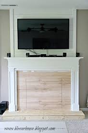 Top 10 Favorite Blogger Home Tours Bless Er House So Remodelaholic How To Build A Faux Fireplace And Mantel