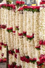 flowers garland hindu wedding white lotus aromatics