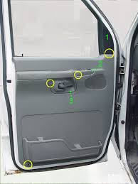e van door panel removal ford truck enthusiasts forums