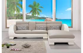 canape avec meridienne canapé en cuir elios avec méridienne sur le coté droit teck in home