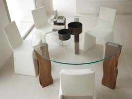 Bases For Glass Dining Room Tables Dining Tables Stunning Glass And Wood Dining Tables Glass Top