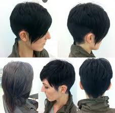 spiked hair with long bangs 40 pretty short haircuts for women short hair styles