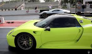 Porsche 918 Torque - rimac concept one vs porsche 918 the future is here