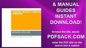 canon np6317 service manual video dailymotion