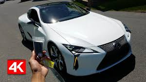 lexus lc 500 competition 2018 lexus lc 500 in depth walkaround startup interior exterior