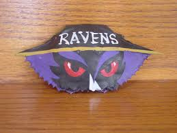 baltimore ravens inspired crab shell ornament by heartsintheclouds