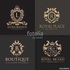 Premium Logo Templates luxury logo set best selected collection hotel logo crest logo set