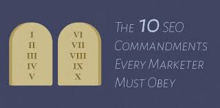 ten resume writing commandments 10 commandments of seo every marketer must obey
