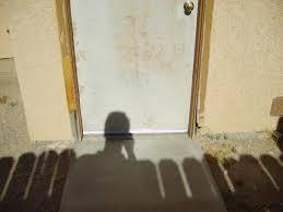 How To Install An Exterior Door Frame Exterior Door Jamb Replacement Contemporary Replacing