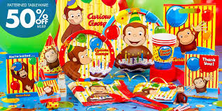 curious george party ideas curious george party supplies curious george birthday party city