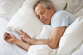 Man Sleeping In Bed Have A Healthier Sleep Cycle The Guide To Healthy Living
