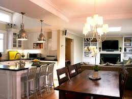 design marvelous open plan kitchen dining room kitchen remodel