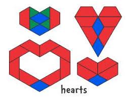 pattern blocks math activities 150 best pattern blocks images on pinterest pattern blocks