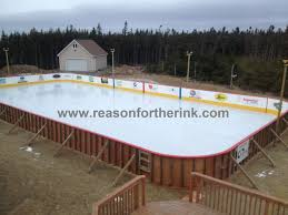 ice rink backyard home interior ekterior ideas