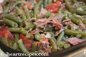 green beans with smoked turkey i recipes