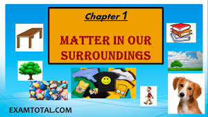 matter in our surroundings class 9 science ncert chapter 1