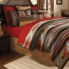 Rust Comforter Red River Southwestern Bedding Collection