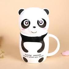 fancy coffee cups panda coffee mug swarmly co