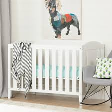 baby cribs furniture mattresses for infants at walmart south shore cuddly crib with toddler rail white