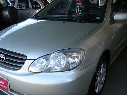 100 manual proprietario toyota corolla 2003 comprar carro