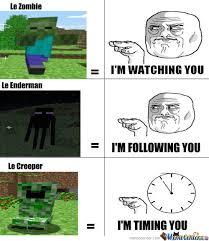 Memes Minecraft - minecraft mobs meme by shadowbolt01 memedroid