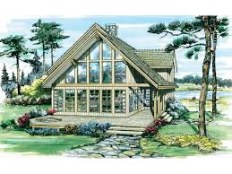a frame style house plans eplans a frame house plan leisure home is for outdoor