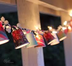 How To Make Paper Light Lanterns - diy retro inspired outdoor string lights fynes designs fynes