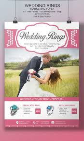 wedding flyer wedding rings flyer template by blogankids graphicriver