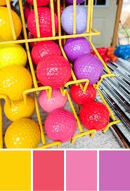 color inspiration miniature golf summer color palette merriment