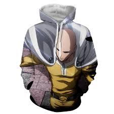 buy badass saitama one punch man hoodie at best price anime vs