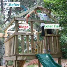 Building A Backyard Playground by How To Add A Roof To A Diy Wooden Playground Playset Do It
