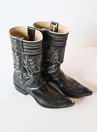 womens vintage cowboy boots size 9 vintage cowboy boots womens black size 9 ebay
