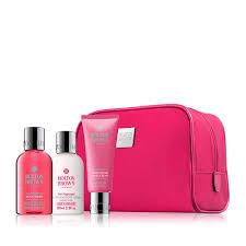 women s pink pepper travel size toiletries molton brown uk molton brown uk women s weekend stowaway