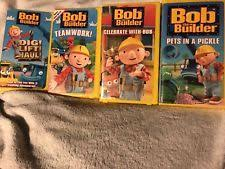 bob builder vhs tapes ebay