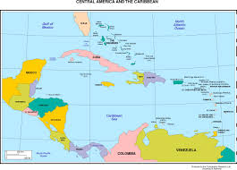 Map Of Jamaica Blank by Maps Of The Americas