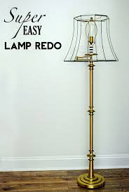Affordable Floor Lamps Best 25 Floor Lamp Redo Ideas On Pinterest Throw Pillow Covers