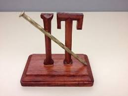nailed it wooden desk ornament sign plaque collectible award