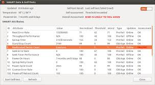 Count Characters Ubuntu Drive How To Fix Disk That Is Likely To Fail Soon Ask Ubuntu