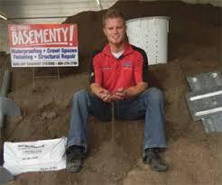 menasha wi cracked foundation repair contractor wet basement