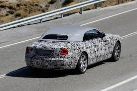 what company makes mazda spyshots rolls royce dawn makes an appearance before frankfurt