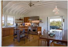 Contemporary Cottage Designs by Architectural Cottage Design Kitchen Wooden Floor Cabinets Table