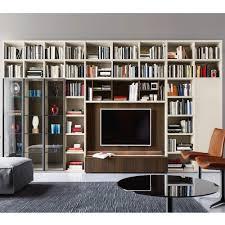 libreria tv gallery of soggiorno libreria bisanzio librerie porta tv la