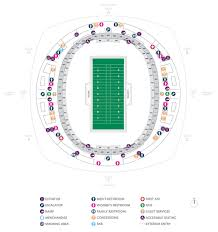 allstate arena floor plan football seating charts mercedes benz superdome